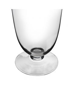 Glass Trumpet Vase Wedding Centerpiece