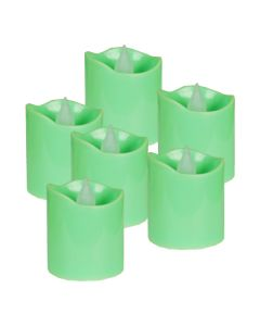 "LED Flameless Votive Candle H-1.6"" D-1.5"" (Pack of 24)"