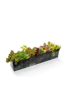 zinc-rectangle-metal-vases-planter-ZICB052004