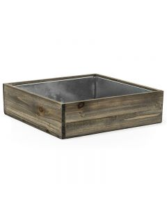 4 inches wood planters