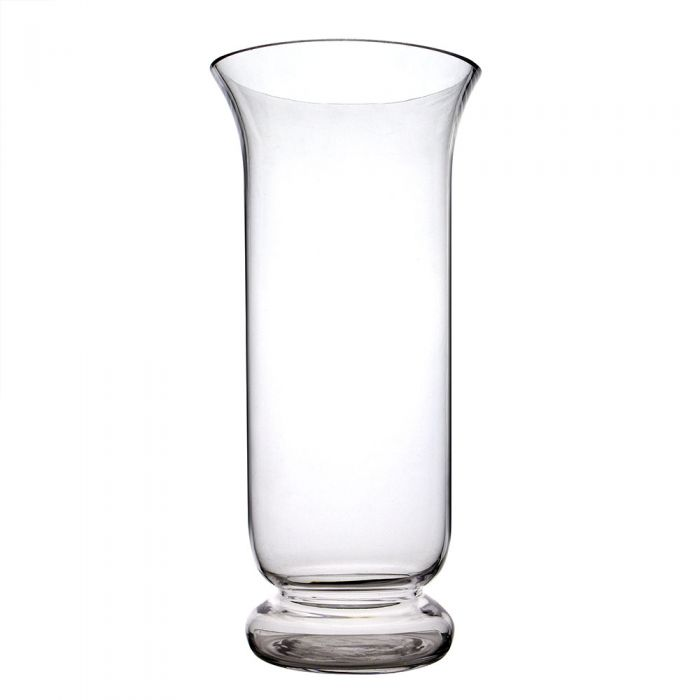 16 Inch Tall Glass Hurricane Candle Holder